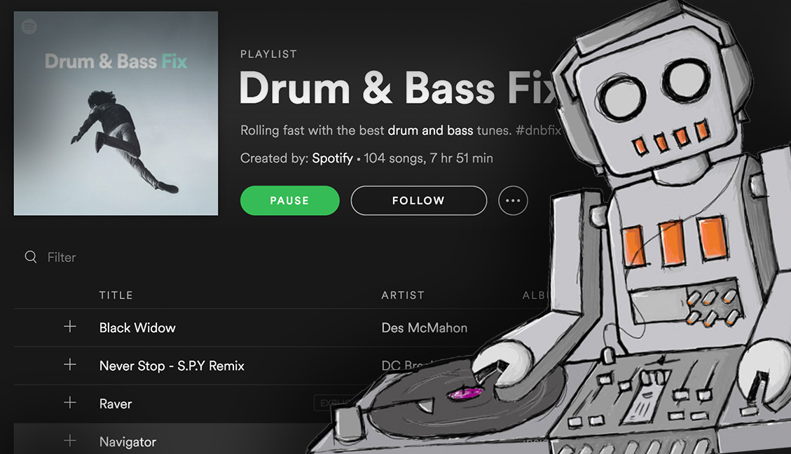 Spotify Now Auto-Mixing Tracks In Playlists, Gets Phrasing