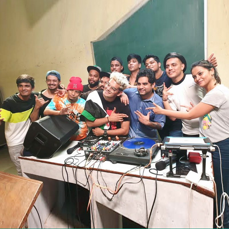 'the dharavi dream project', a collaboration of universal music india and …  dj spin doctor and deejay om managed the first-class curated by dj … the