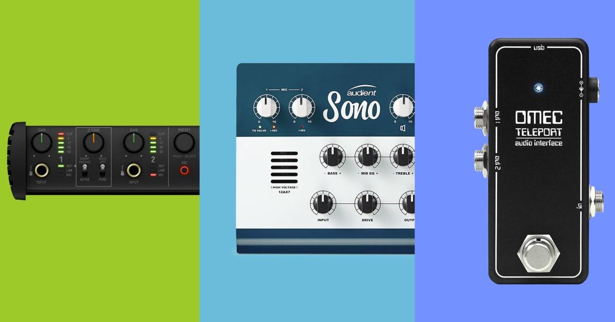 Video: 3 Guitar-Specific Recording Interfaces—Axe I/O, Sono